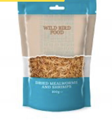 Mealworms With Shrimps 80g