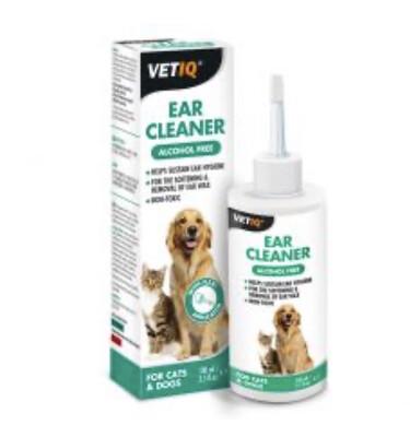 Vetiq Ear Cleaner Dog Cat 100ml