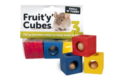 Small n Furry Fruity Cubes x 3