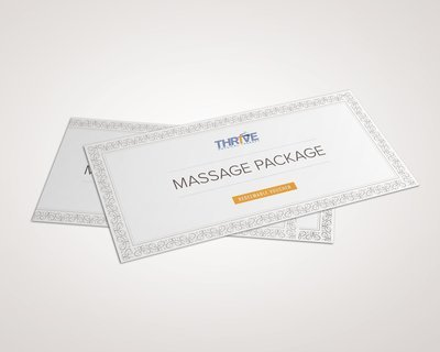 Twelve 30 Minute Restore and Rejuvenate Massage Sessions