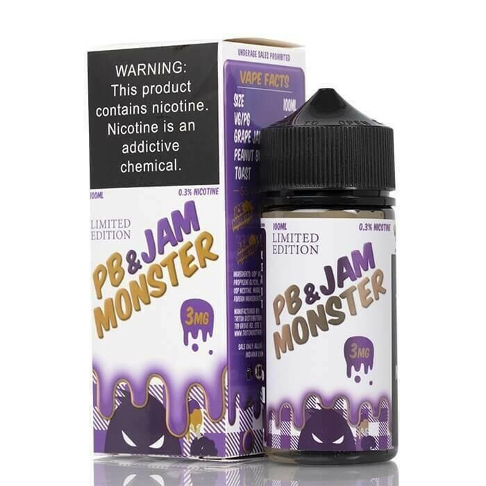 PB & Jam Monsters - Grapes  جام مونستر عنب مع زبدة فول سوداني