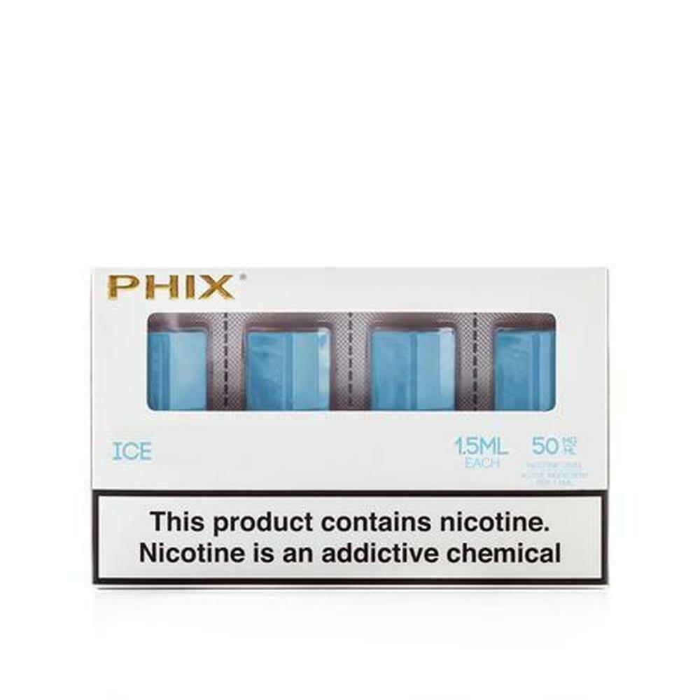 Phix Ice Replacement Pods - 50MG - بودات ثلج لجهاز سحبة السيجارة فيكس