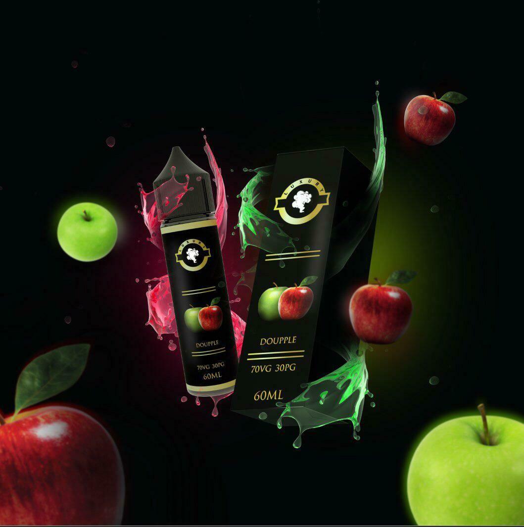 "Luxury Doupple ""Double Apple"" لوكجري دوبل تفاحتين"