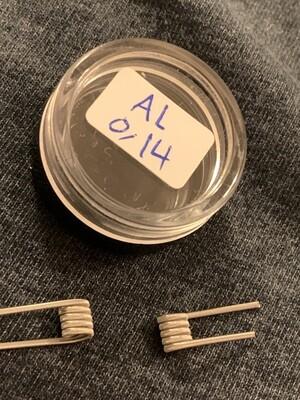 Handmade Alien Coils 0.14Ω زوج كويلات الين صناعة يدوية