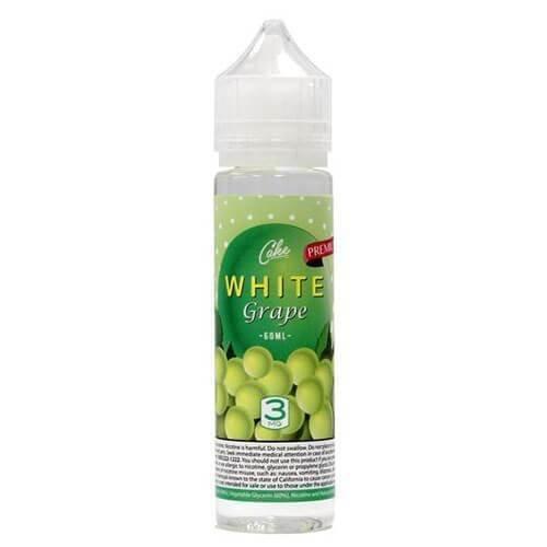 Cake Vapor - White Grape With Menthol عنب أبيض بارد من كيك فيبر