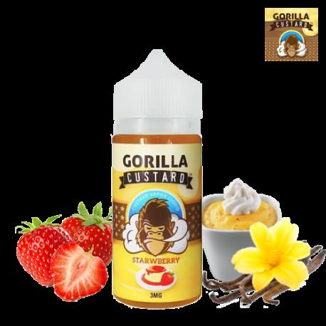 Gorilla Custard Strawberry  غوريلا كاستارد بالفراولة