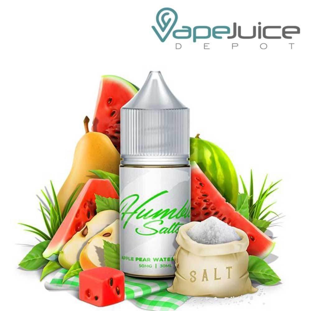 Humble Salts - Apple Pear Watermelon هامبل تفاح وكمثري وبطيخ نيكوتين ملحي