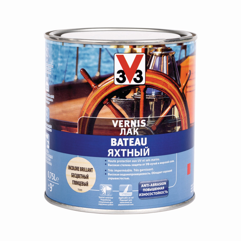 Яхтный лак V33 0,75 л