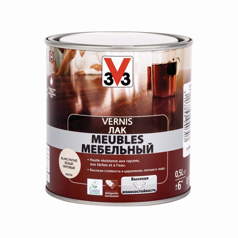 Лак для мебели V33 Vernis 0,5 л