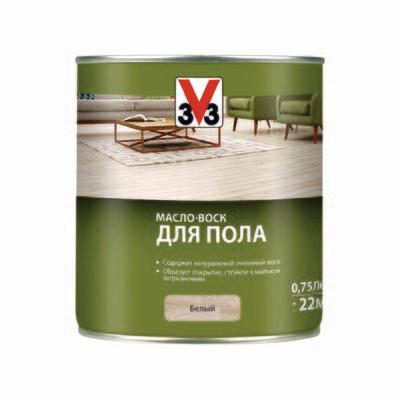 МАСЛО-ВОСК ДЛЯ ПОЛА V33 0,75 л