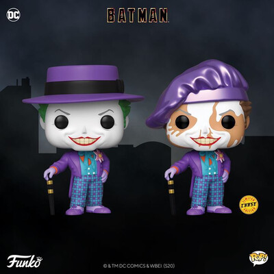 COMING SOON: POP! HEROES - The Joker Chase/Common Pre order
