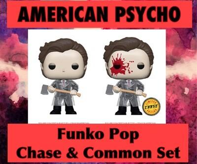 American Psycho Funko Pop Chase & Common Combo - Pre Order-
