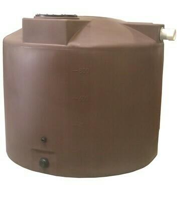 1,000 Gallon Rain Harvesting Tank with Sunshield