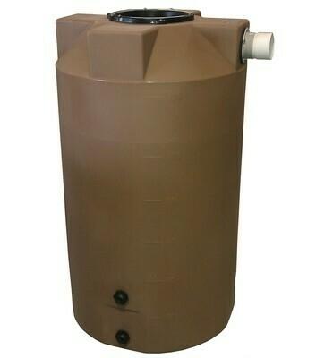 125 Gallon Rain Harvesting Tank with sunshield
