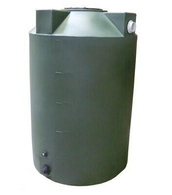 500 Gallon Rain Harvesting Tank with Sunshield