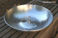 Rain Chains - Aluminum Dish With Loop