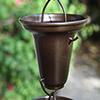 Rain Chain - Bronze Flared Cup 7228Brz