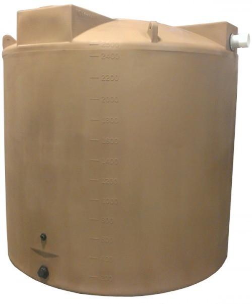 2500 Gallon Rain Harvesting Tank with SunShield®