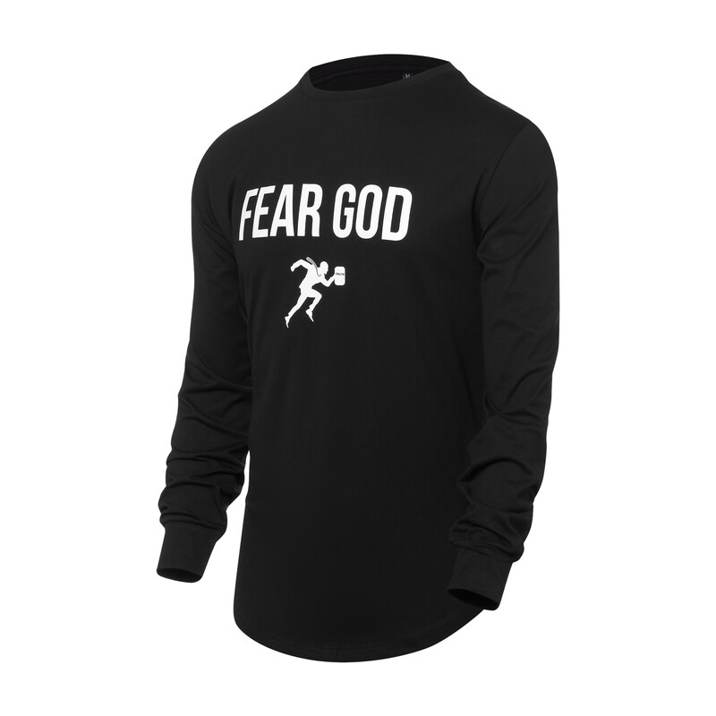 Fear God Long Sleeve T-shirt (Social Distancing Witnessing Collection)