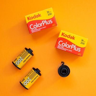 Kodak Color Plus 200 35mm 36 Exposures