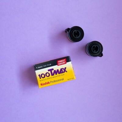 Kodak TMAX 100 35mm 36 Exposures