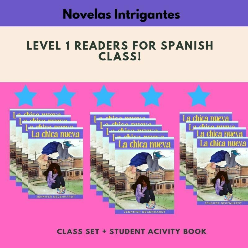 La chica nueva Free Shipping ( 30 Novels) + Student Activities