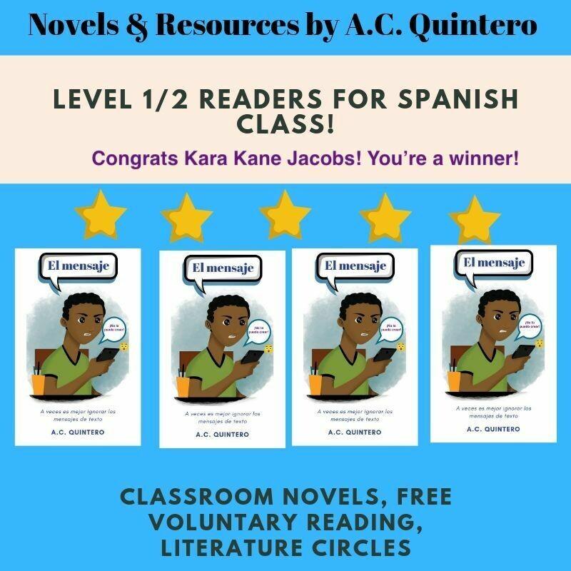El mensaje- Level 2 Novel (4)