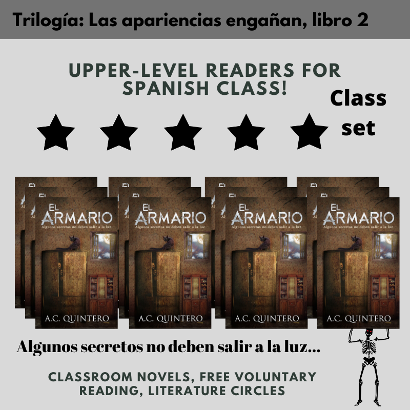30 Novels El Armario (Skeletons in the Closet) Level 3+