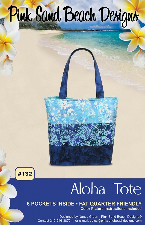 Aloha Tote Bag Pattern 54974