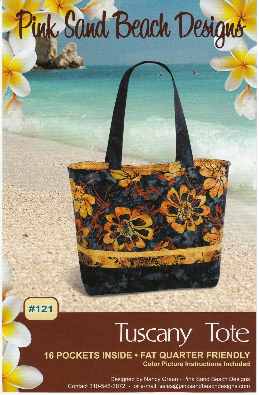 Tuscany Tote Bag Pattern M6X9LV3M