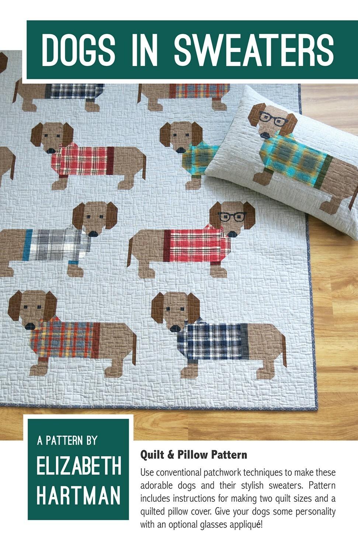 Dogs in Sweaters Pattern 8WAMTGPW