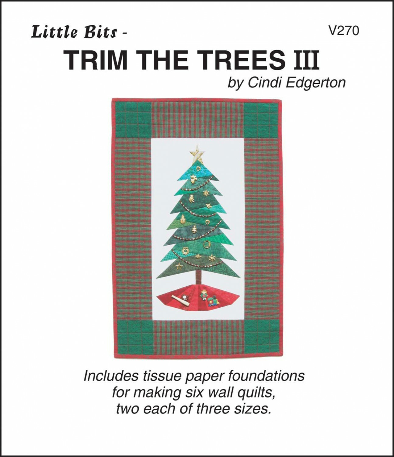 Trim the Tree 3 Pattern QBTD32PU