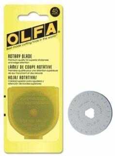 Olfa Replacement Blade - 45mm JXYUK7ZX