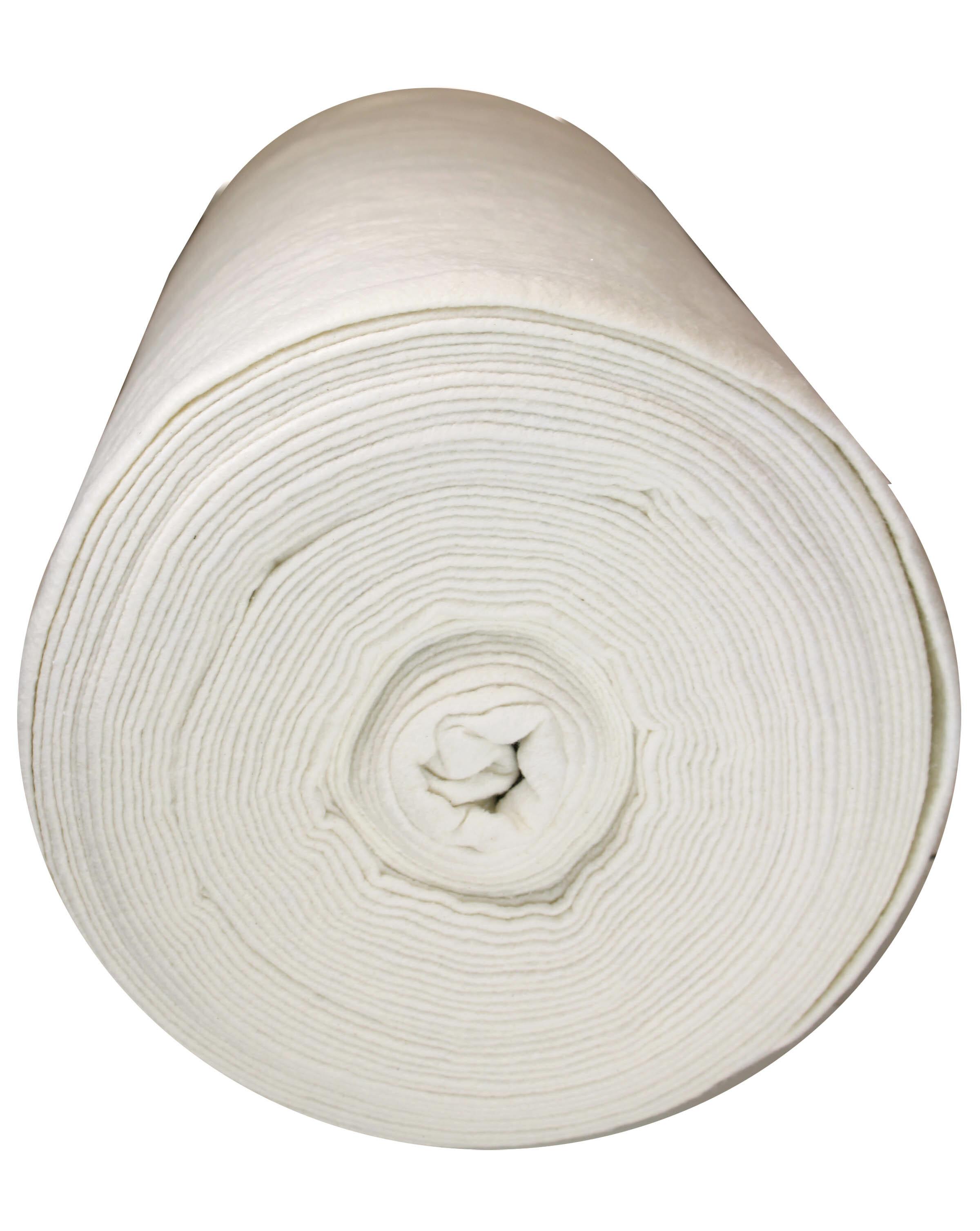 "100% Cotton Batting - 96"" wide - 1/2m cut 9C8SMEW1"