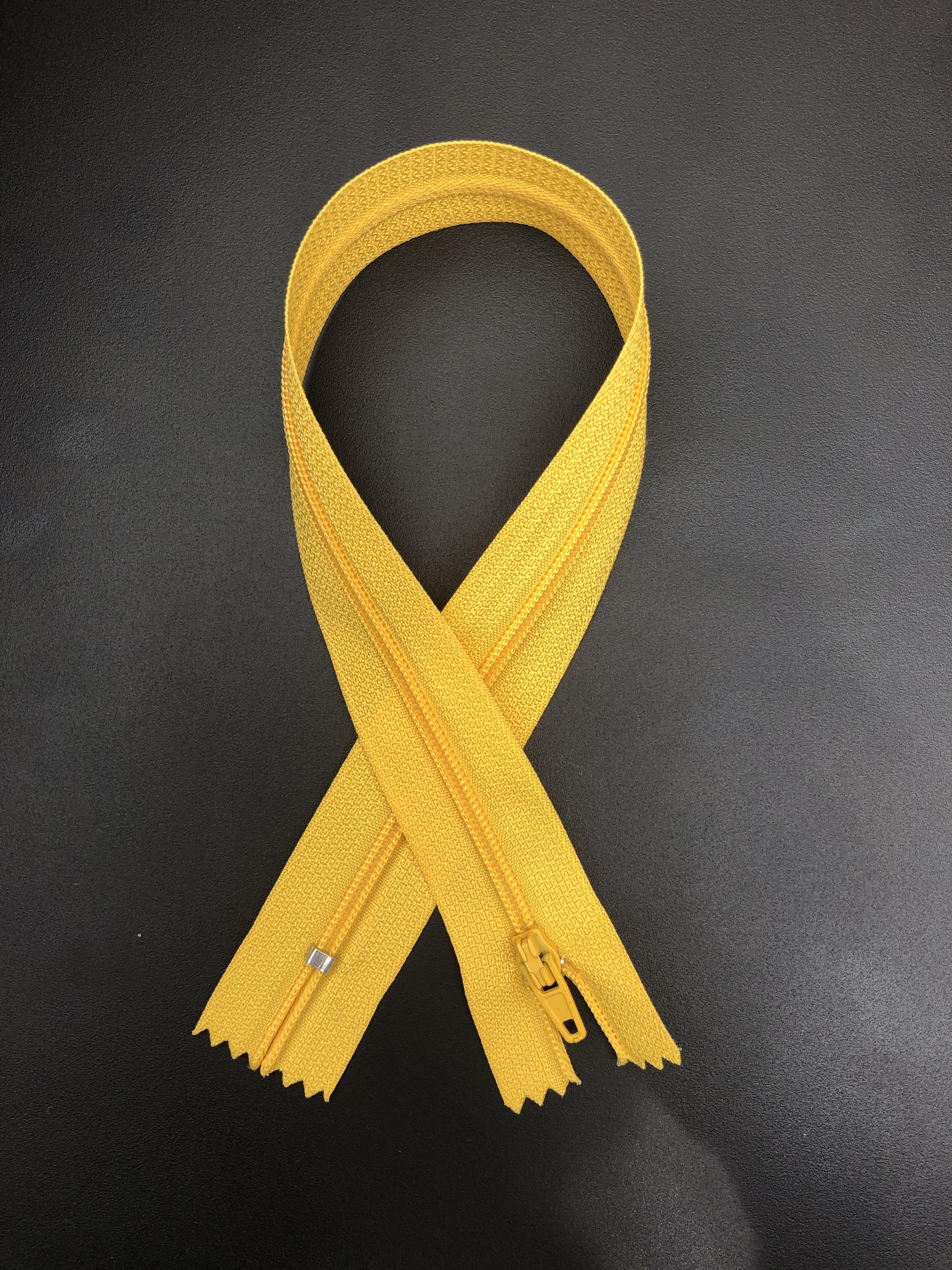 """14"""" Zipper - Golden Yellow 55295"""