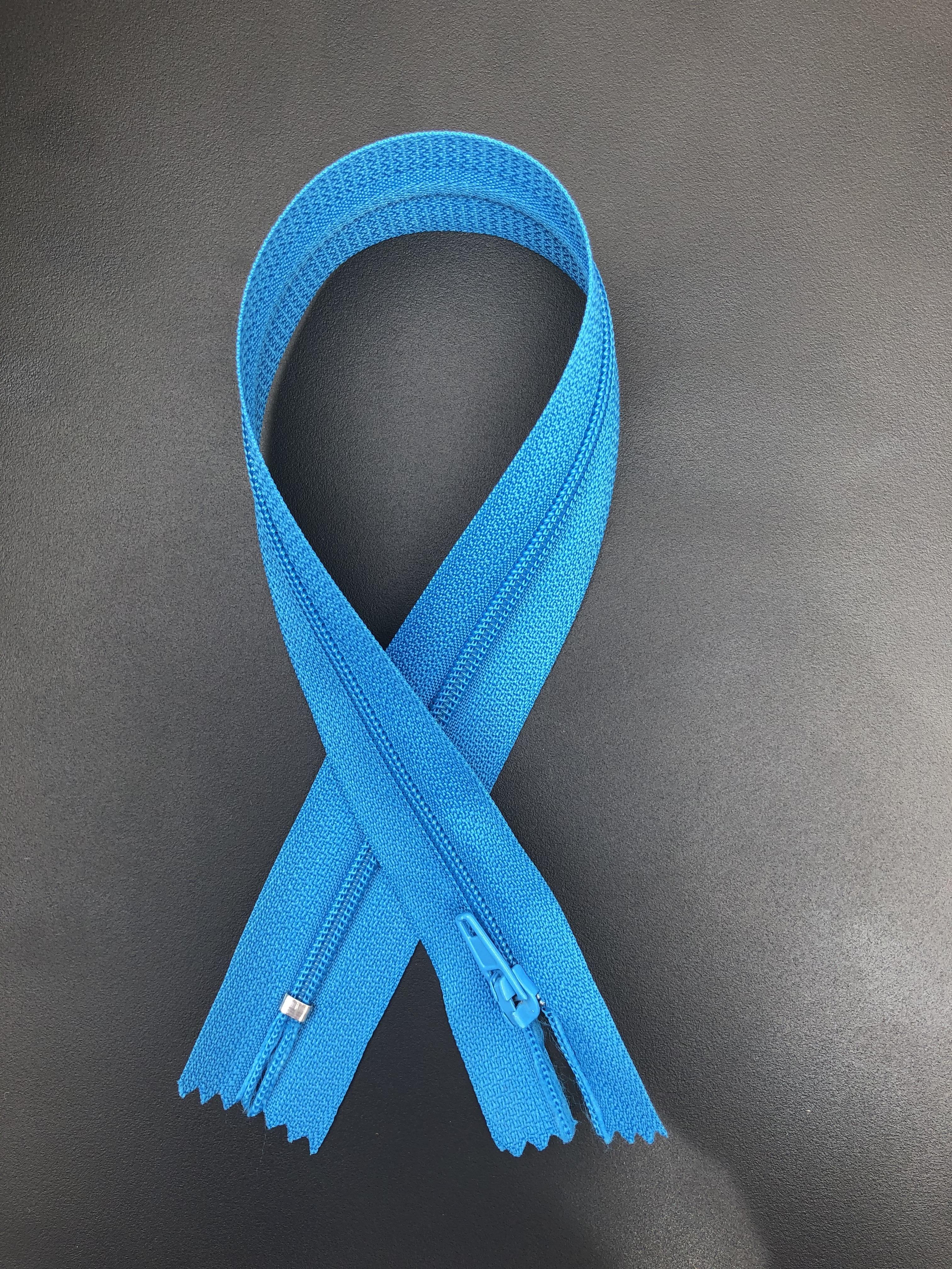 """14"""" Zipper - Aqua Blue 55296"""