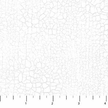 Crackle - Colour 10 - Snow - 1/2m cut 55384