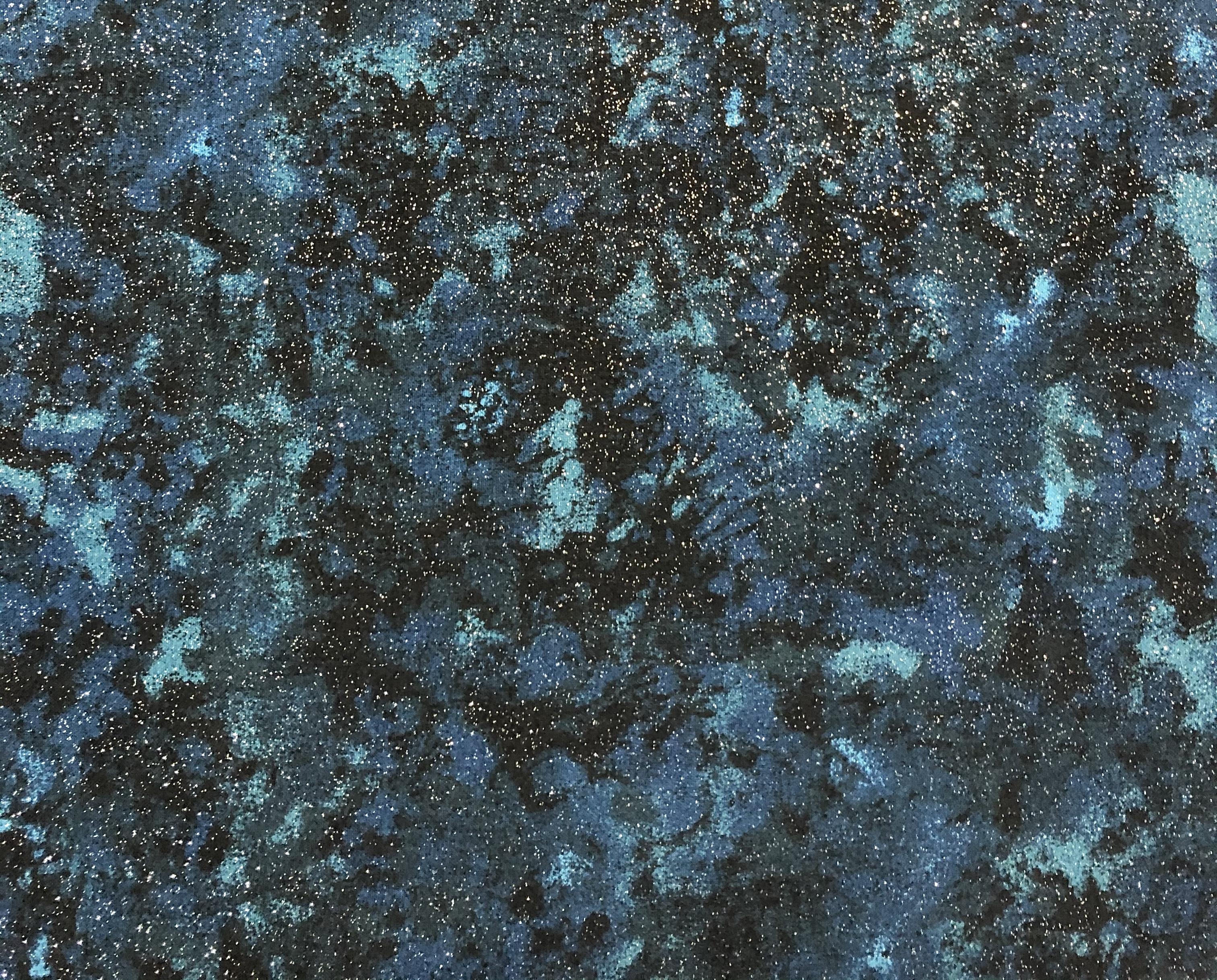 Teal Glitter - 1/2m cut 55445