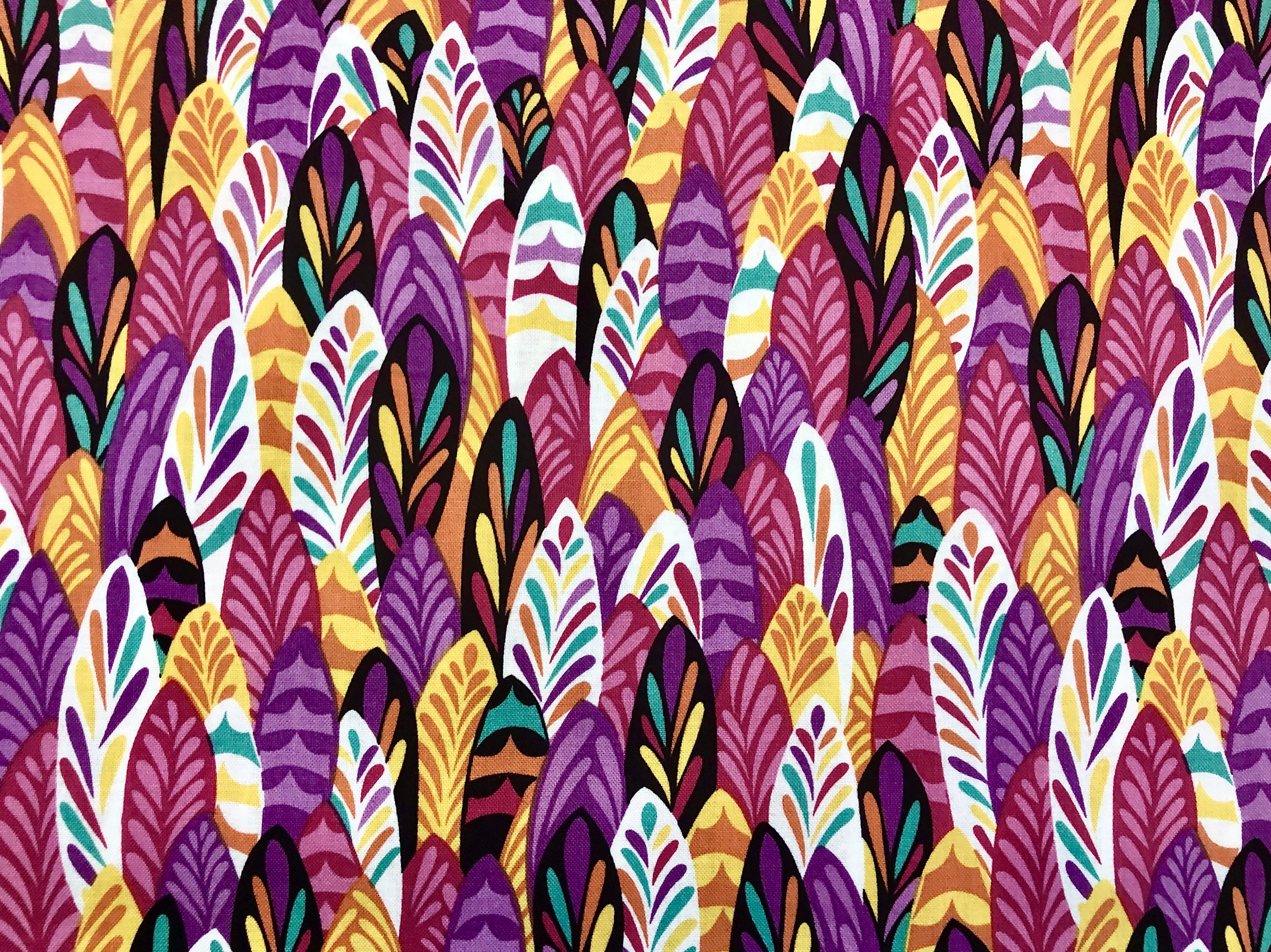 Feathers & Foliage - Wilmington Fabrics - 1/2m cut 55450