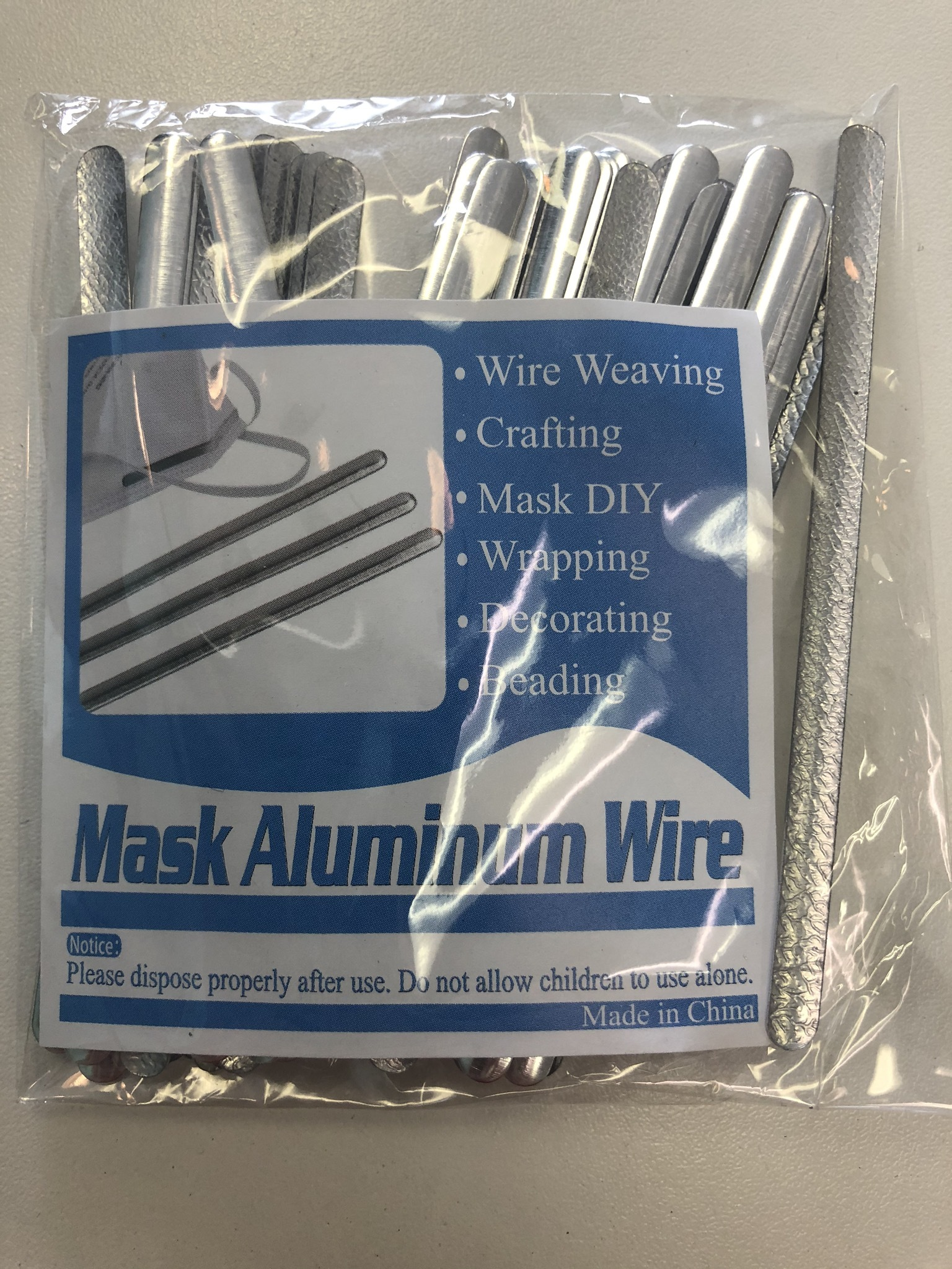 Flexible Mask Wires - 50 Pack 55479