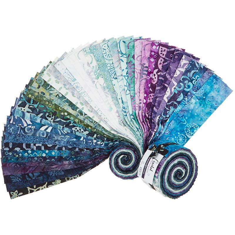 Coastal Getaway - Batik - Jelly Roll 55532