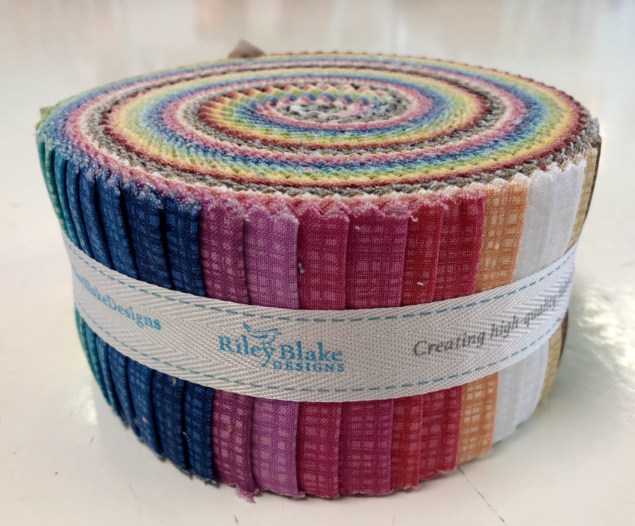 Textured - Riley Blake - Jelly Roll 55539