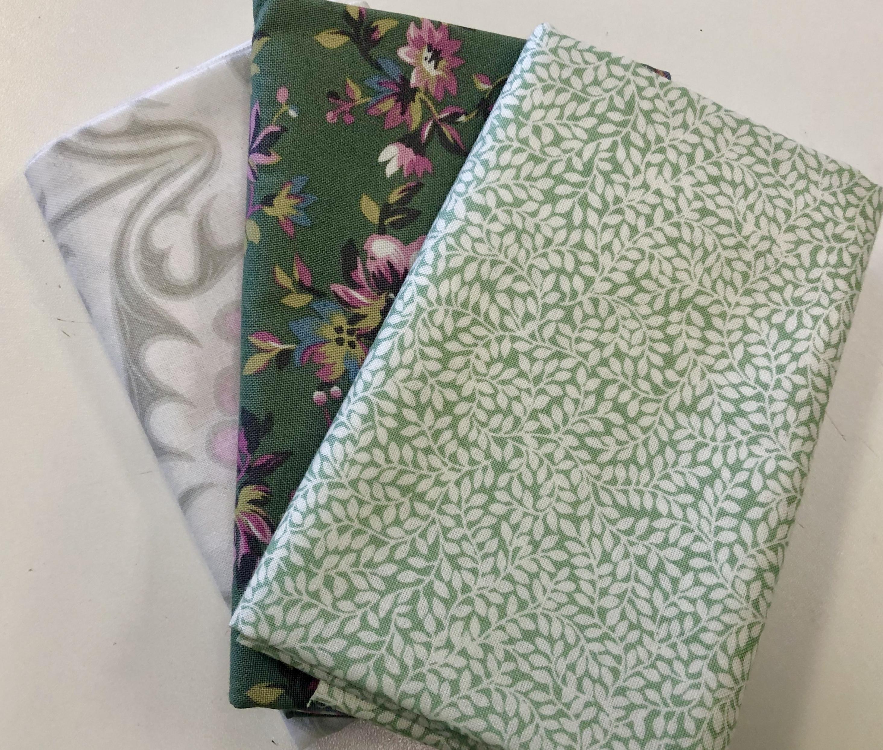 Green Fat Quarter Bundle 55575