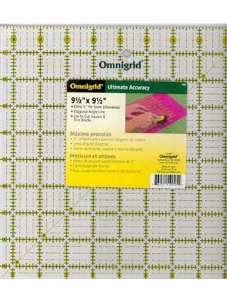 "9.5""  square ruler 55604"