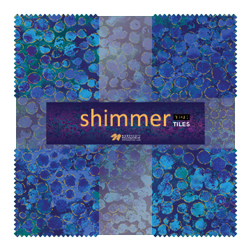 Deep Blue Sea Shimmer Radiance Layer Cake 55716