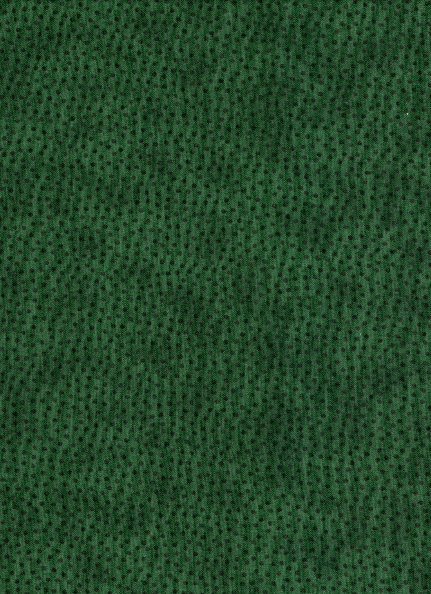 Polka Dot Blender - Green - 1/2m Cut 55767