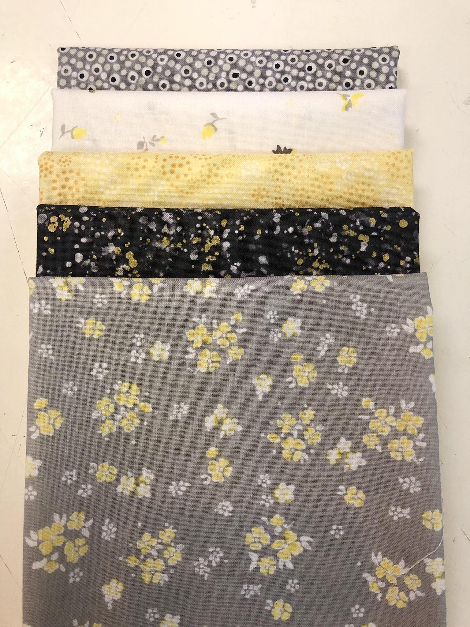Grey/Yellow Fat 1/4 Bundle 55792