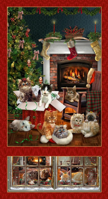 Fireside Kittens Panel 55866