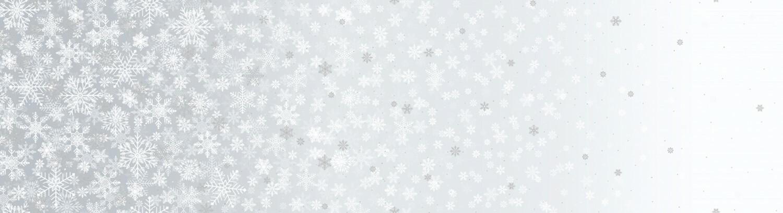 First Snowfall - White - 1/2m cut 55873