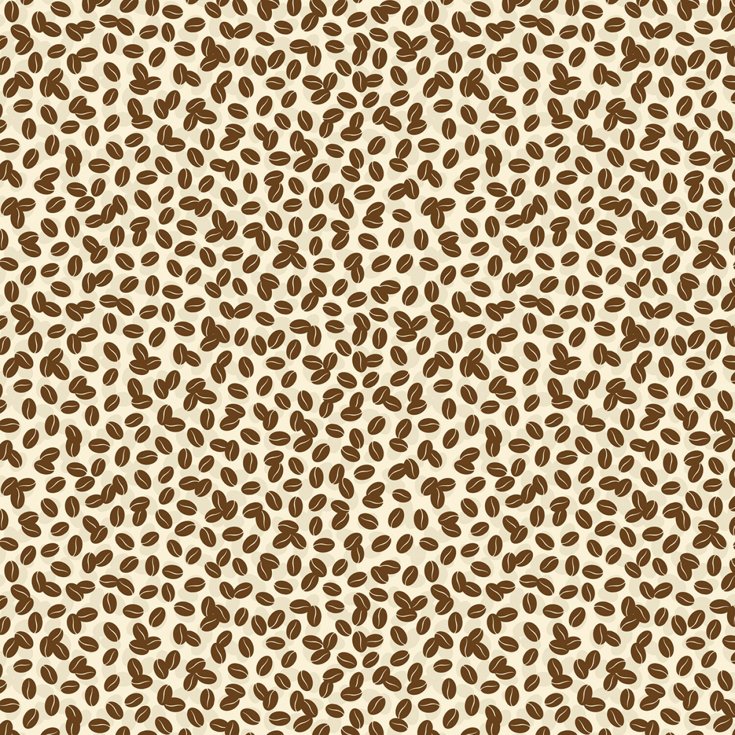 Coffee Beans - Coffee Time by Wilmington Fabrics - 1/2m cut 55887